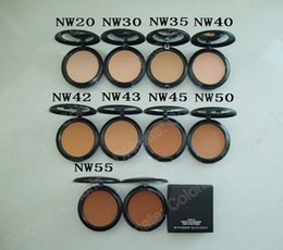 NW Shade Studio Fix Powder Puls Foundation Face Powder 15g 10pcs