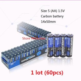 Wholesale Battery Size AA V Eco friendly AA Dry Carbon Battery No Lekage Oil for Toy Remote Control