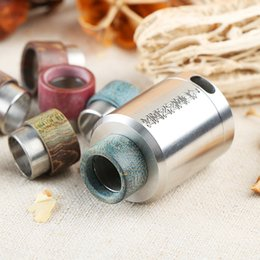 Wholesale manufacture drip tip stabilized wood drip tip for tfv8 atlantis v2 tank kennedy rda atomizer