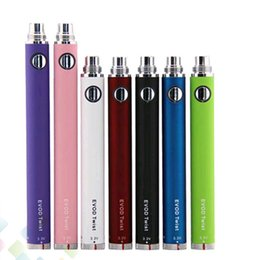 Electronic Cigarette Ego Battery EVOD Twist Battery E cigarette Battery Variable Voltage elegant button top quality factory price
