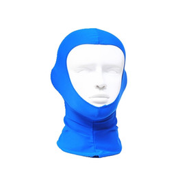 Uv protection wetsuit hood swimming snorkel cap scuba diving accessories hood warming cap crash protecter sunscreen face mask for Man and W