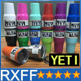 Wholesale Yeti oz oz oz oz Rambler Stainless Tumbler Bilayer Insulation Cups Car Beer Mug Large Capacity Sports Mugs best quality by DHL