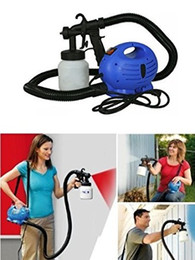Wholesale DHL NEW Electric Easy Paint Spray Gun Painter Hvlp w Zoom Through House Painting Jobs