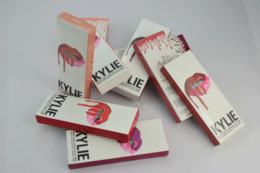 Wholesale Factory Price Matte Lipstick Kylie Jenner Lip kit Gloss Set Easy to Wear Red Velvet Makeup Colors Beautiful Lips Lipstick Lipliner