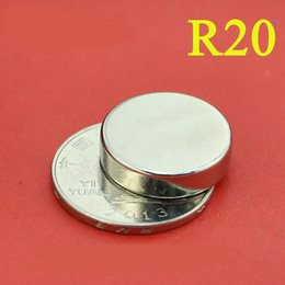 Acheter en ligne Aimant néodyme forte-R20 Livraison gratuite 5pc dia 20x5 mm chaud aimant rond Aimants rares aimant néodyme 20x5mm gros