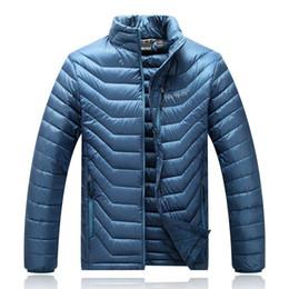 New men's Winter down jacket Men White Duck Down Jacket Ultra Light Men's Hooded Jackets Warm Coat 077