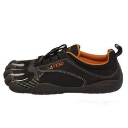 Caoutchouc respirante à vendre-Vente Chine Design de marque en caoutchouc avec cinq doigts résistant à l'extérieur résistant aux chaussures respirant léger Mountaineer pour femmes Hommes