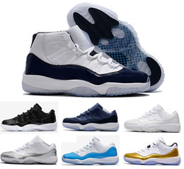 2017 bleu argenté 2017 air retro 11 hommes Basketball Shoes Midnight Navy Low GS Blue Moon University Blue Barons GS HEIRESS blanc argenté sport sport sport bleu argenté offres