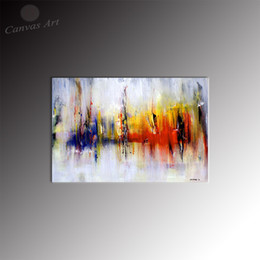 No Framed Wall Decor Painting Canvas Prints Abstract Artwork Art Set Decorative Picture for Living Room