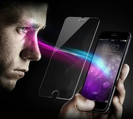 Wholesale TOP Tempered Glass HD for Iphone plus Full coverage D Anti bluelight fire fingerprint oil Bear times pressure BEST Factory product