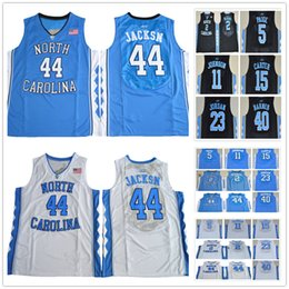Wholesale North Carolina Tar Heels Justin Jackson Joel Berry II Marcus Paige Brice Johnson Vince Carter Harrison Barnes Jerseys S XL