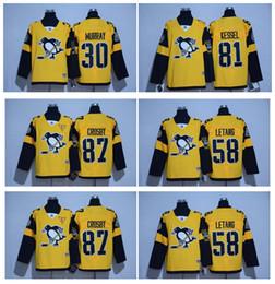 2017 Série Stade Premier Pittsburgh Penguins Hockey Jersey 87 Sidney Crosby 30 Murray 58 Kris Letang 81 Phil Kessel 71 Malkin 66 Lemieux hockey series for sale à partir de série de hockey fournisseurs