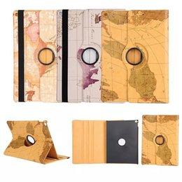 Acheter en ligne Mélanger le cas de la mode-La nouvelle mode 360 tournant la couverture en cuir de cas d'affaire de cas d'iPad pour l'iPad Mini 4 soutiennent le support DHL free