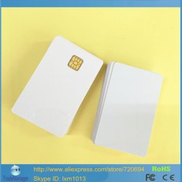Wholesale ISO7816 SLE4428 Inkjet Printable PVC Card For E pson C anon Printer Double Side Printing