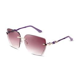 Descuento gafas de sol púrpura Gafas de sol para hombres Escudo polarizado gafas de sol Vino lente roja sin espejo púrpura espejo piernas UV400 con vidrios bolsa de tela de paño WDS14-3