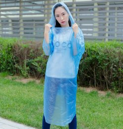 disposable travel raincoat, Fashion clear lightweight raincoat,emergency plastic rainwear Rainwear Travel Rain Coat Rain Wear