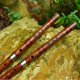 ZWB002 Key C D E F G Freeshipping Chinese Bamboo flute Dizi professional sound copper joint musical instrument