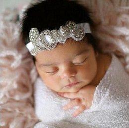 2017 cute baby accesorios de fotografía Las vendas infantiles recién nacidas de los niños del bebé lindo lindo del amor del Rhinestone de MHS.SUN 2PCS / LOT embroma los accesorios de la cabeza del pelo de los accesorios de la fotografía del bebé de los cabritos cute baby accesorios de fotografía Rebaja