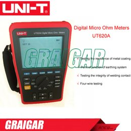 Digital Micro Ohm Meters UNI-T UT620A low resistance 10uohm Four-wire measurement resistance meter wire length tester
