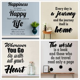 Mixed Order Quote Wall Decal - Custom Vinyl Art Stickers for Homes, Windows, Cars, Electronics, Kid Rooms, Libraries, Offices Interiors
