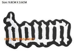 DOWN Bande de musique Pantera COC Metal Iron On / Sew sur Patch T-shirt TRANSFERT MOTIF APPLIQUE Rock Punk Badge Livraison gratuite à partir de transferts tshirt fabricateur