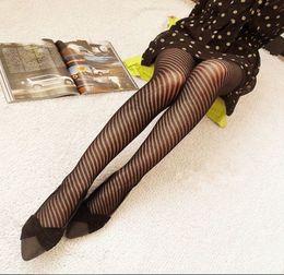 2017 jambes sexy bas Bas de maillot de maillot Jacquard Tights Slim Sexy Lace Grid Hollow Out Legging Plus taille Bas de soie élastique 6pcs / lot jambes sexy bas sur la vente