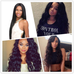 Resika 8A Human Hair Brazilian Hair Closure Lace Closure Body Loose Natural Deep Wave Straight Front 4x4 Middle Part Bleached Knots