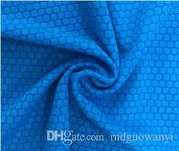 Wholesale Water circle functional mesh fabric Fishing clothing overalls fabrics Soccer uniform fabrics ocycling jerseys