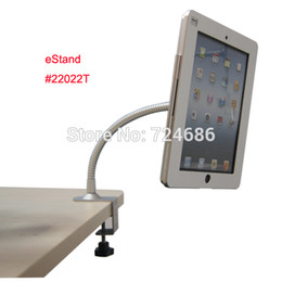 Wholesale for iPad air table clamp holder with security lock casing office