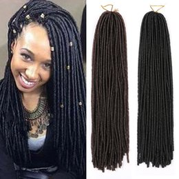 Les plus récentes extensions de cheveux en tressage synthétique Kanekalon Faux Locs Dreadlocks tresses Cheveux Curly Weave Havana Mambo Hair Extensions à partir de bouclés tisse coiffures fabricateur