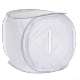 2017 photo boîte de tente 60 * 60cm Photo Studio Softbox Tente de tournage Boîte Softbox photo lumière tente + sac portable + 4 Toile de contact couleur lentilles de couleur photo boîte de tente promotion