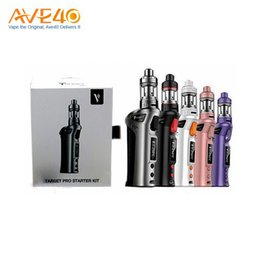 100% Original Vaporesso TARGET pro VTC 75W Starter Kit new target vtc 75w kit With Ceramic cCELL Tank Coil Temperature Control Mod Gift Box