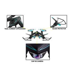 2017 vidéo rc 720P FPV drone X8SW RC Quadcopter hélicoptère 2.4G 4CH 6-Axis RC drones hélicoptère peut ajouter en temps réel 1.0MP caméra HD promotion vidéo rc