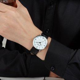 High Quality New Geneva Women's watches Quartz relogio Roman Numerals Men Faux Leather quartz watch Lovers Quartz Luxury Watch