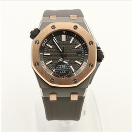 Wholesale QEII CUP Limited Edition Wolf Glass Back Luxury Brand AP Mens Watch ROYALOAK OFFSHORE Automatic Movement Mechanical Skelecton Men Watches