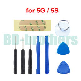 9 in 1 Repair Tool Opening Tools Kit Prying Tool Set with Adhesive Sticker Pentalobe Screwdriver FOR iPhone5 5G 300sets