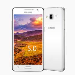 2017 pouces 1gb Samsung Galaxy Grand Prime DU5 G530H UNLOCKED GSM 3G Quad Core 5,0 pouces écran Android 4,4 RAM 1 Go ROM 8 Go pouces 1gb sur la vente