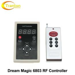 2017 couleur de rêve magique 6803 Contrôleur RF 133 Changement pour Dream Magic Colour Chasing 5050 RGB LED Strip couleur de rêve magique offres