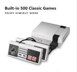 New Retro Classic Game Consoles Built-in 500 Childhood Classic Game Dual Control Manufacturing in China NES GameNostalgia for game consoles