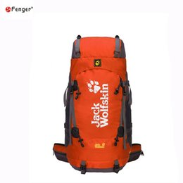 Wholesale 2016 new outdoor leisure travel bag bag sports backpack L large capacity and the wind with rain cover