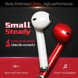 V2 Mini Wireless Bluetooth 4.1 Earphone Stereo Headset Earpiece With Microphone For iPhone And Android Smart Phone(White 1pcs Right ear)