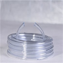 Tubo de la manguera de plástico transparente en Línea-Venta caliente Ninguna pipa transparente del tubo transparente del tubo del claro del pvc del olor flexible de las mangueras flexibles de China Supplier