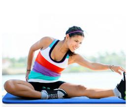 Wholesale Al por mayor Yoga Mat mm PVC Mat para Yoga de alta calidad de cojín de gimnasia Mats