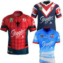 Sydney Roosters 2017 Australia Spider-Man Rugby Jerseys Futbol Camisa Football Camisetas Shirt Kit Maillot Maglia Trikot