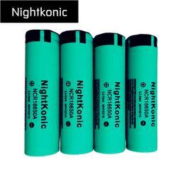 Nightkonic 100 PCS LOT 18650 Battery 2000mah 3.7V Li-ion Rechargeable Battery flashlight power bank battery 15210