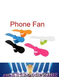 Wholesale best price OTG Android iphone Phone Fan Xiaomi th Micro USB MINI Portable Fan For Android Smart Phone Port Laptop Desktop MYY