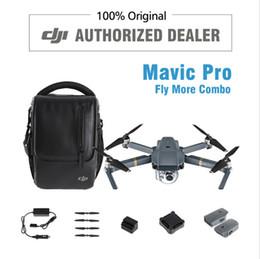 Promotion drones de caméras aériennes En stock! DJI Mavic Pro Value Combo Quadcopters Drones Hélicoptères GPS UAV FPV RC 4K Caméra 2017 FPV Cadeaux Studio Aéronefs