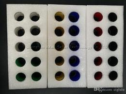 Acheter en ligne Billow v2-Tube de verre Pyrex de remplacement coloré Micro TFV4 2.5ml 3.5ml TFV8 Tête de bébé Uwell Couronne V2 TFV4 Mini OBS Crius Griffin Kayfun Limitless XL