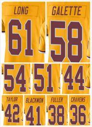 Wholesale cheap Hot stamping Men Elite Jerseys31 Matt Jones Junior Galette Kendall Fuller Long Mason Foster Welcome Mix Orders