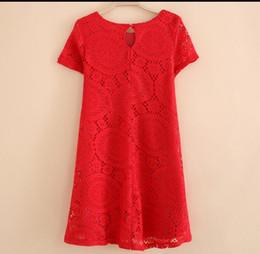 2017 Hot Sale Free Shipping Wholesale new fashion women Big Size Lace Dress women A line party club dress
